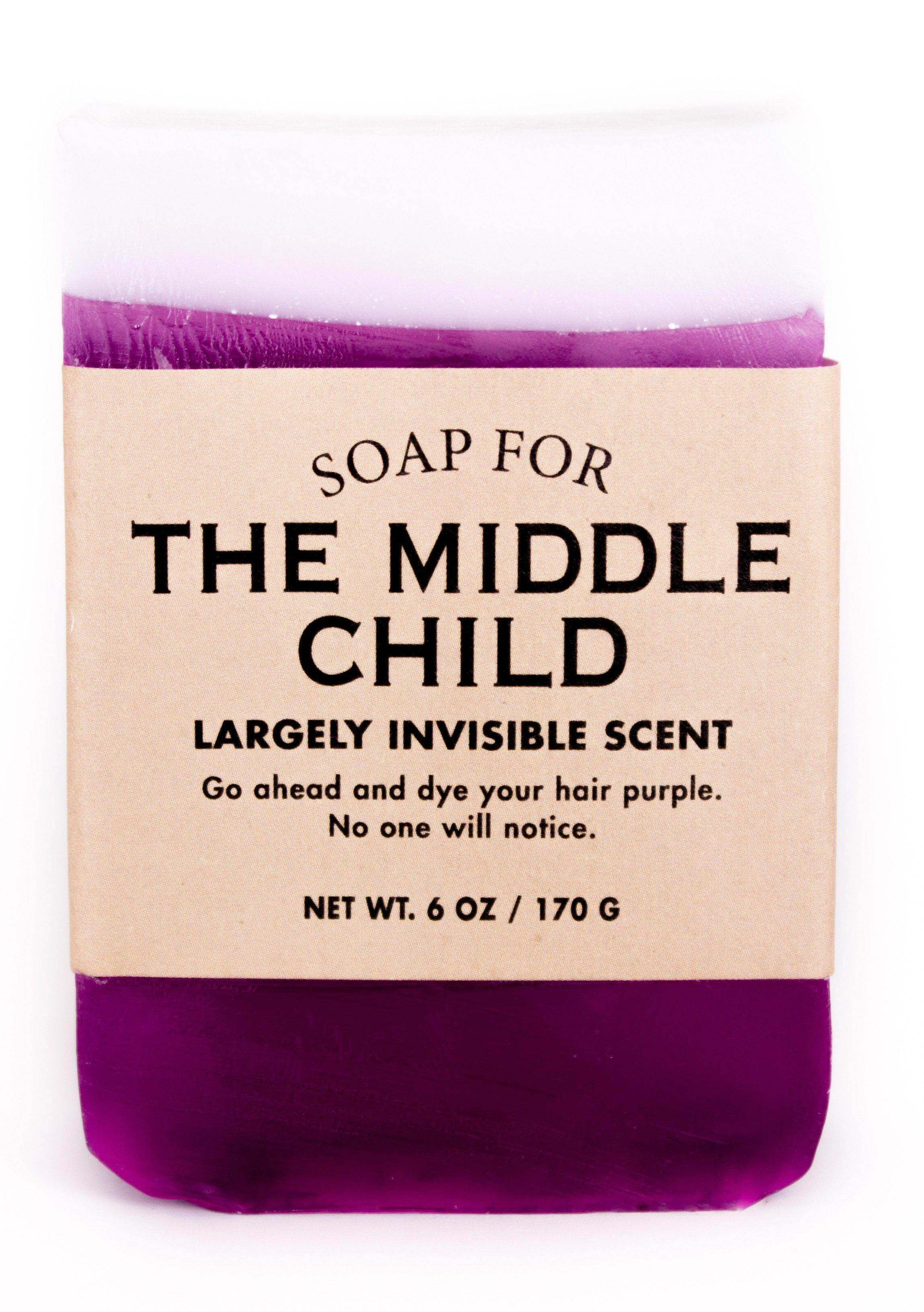 Soap for The Middle Child - BEST SELLER #middlechildhumor