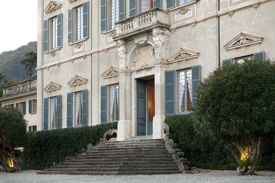 Villa serbelloni sola cabiati tremezzo lakecomoville for Interni ville antiche