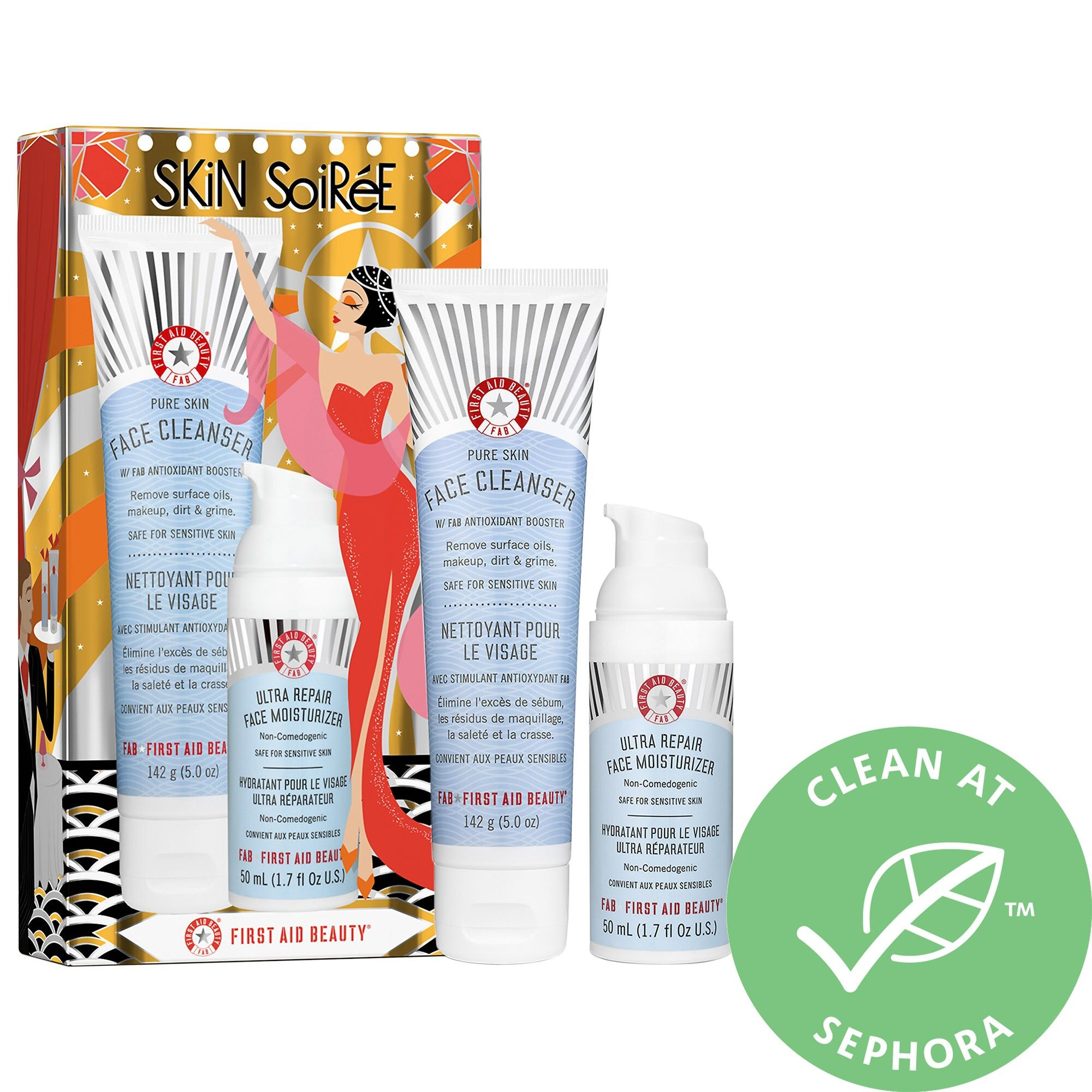 First Aid Beauty Skin Soiree Oily Skin Care Fragrance Free Products Face Cleanser
