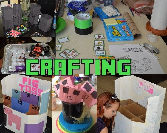 Minecraft crafts do it yourself party minecraft lowcost budget minecraft crafts do it yourself party minecraft lowcost budget party kids solutioingenieria Choice Image