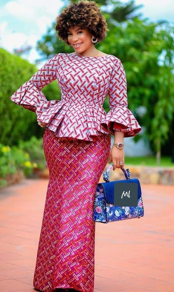 Pin By Azagoh Kouadio On Wax Is Bea African Fashion Skirts Latest African Fashion Dresses Long African Dresses