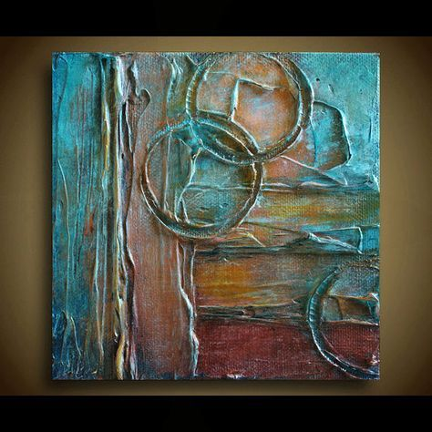 Original Abstract Painting Abstract Art Textured Painting