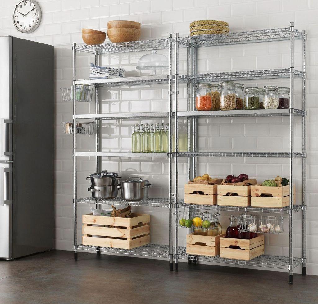40 Nice And Simple Kitchen Storage Organization Ideas Kitchendesign Cozinha Com Prateleiras Espaco De Armazenamento Da Cozinha Projetos Da Cozinha Rusticos