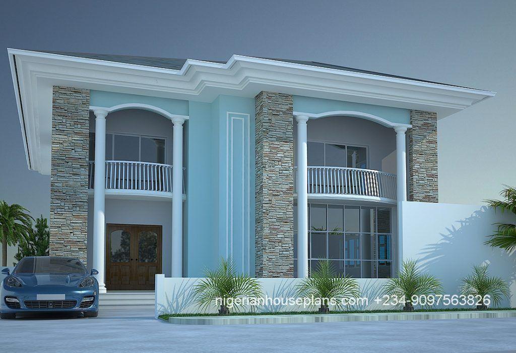 4 Bedroom Duplex Ref 4013 Duplex House Design Bungalow Style House Beautiful House Plans