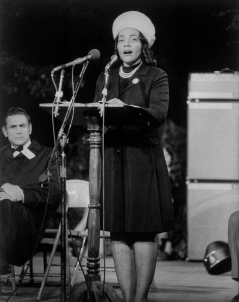 The American Activist Coretta Scott King Martin Luther King S Wife