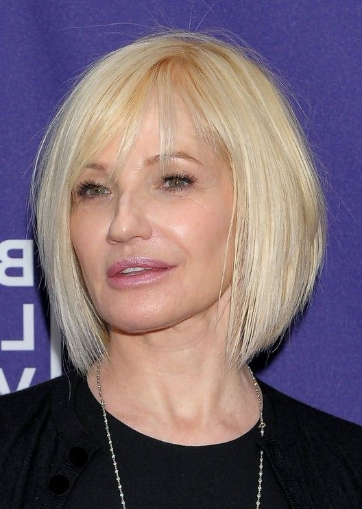 Ellen Barkin Short Graduated Bob Haircut Jpg 528 742 Recipes