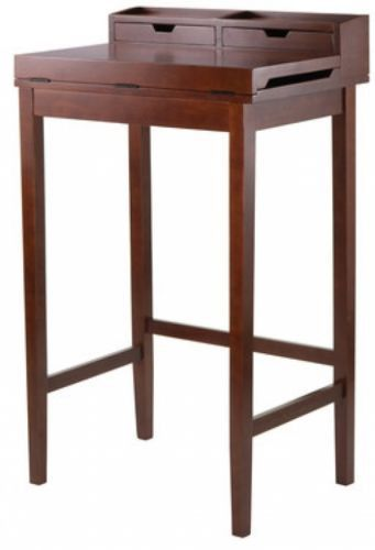 Writing Desk Office Work Surface Table Home Decor Wooden Desks Gift NEW