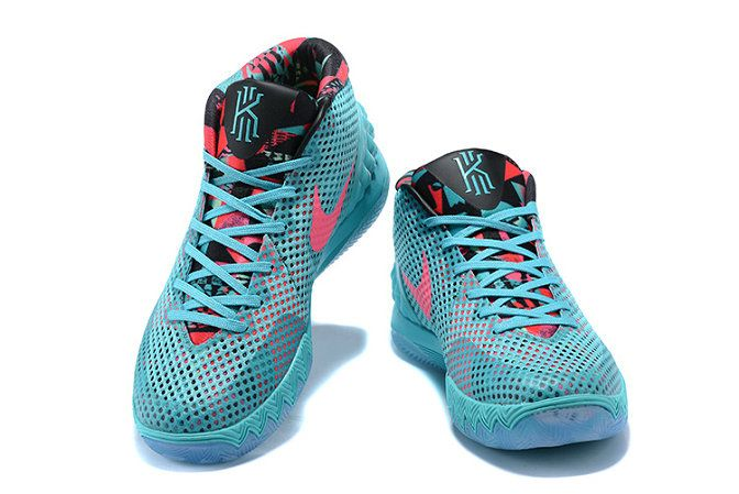 2b9e5b9cf68d Where To Buy 2018 Nike Kyrie 1 Christmas Day PE Turquoise Teal Hyper Pink