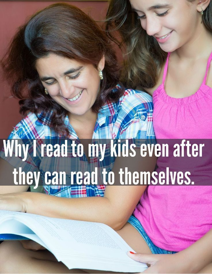 8 reasons why you should still read to your big kids.