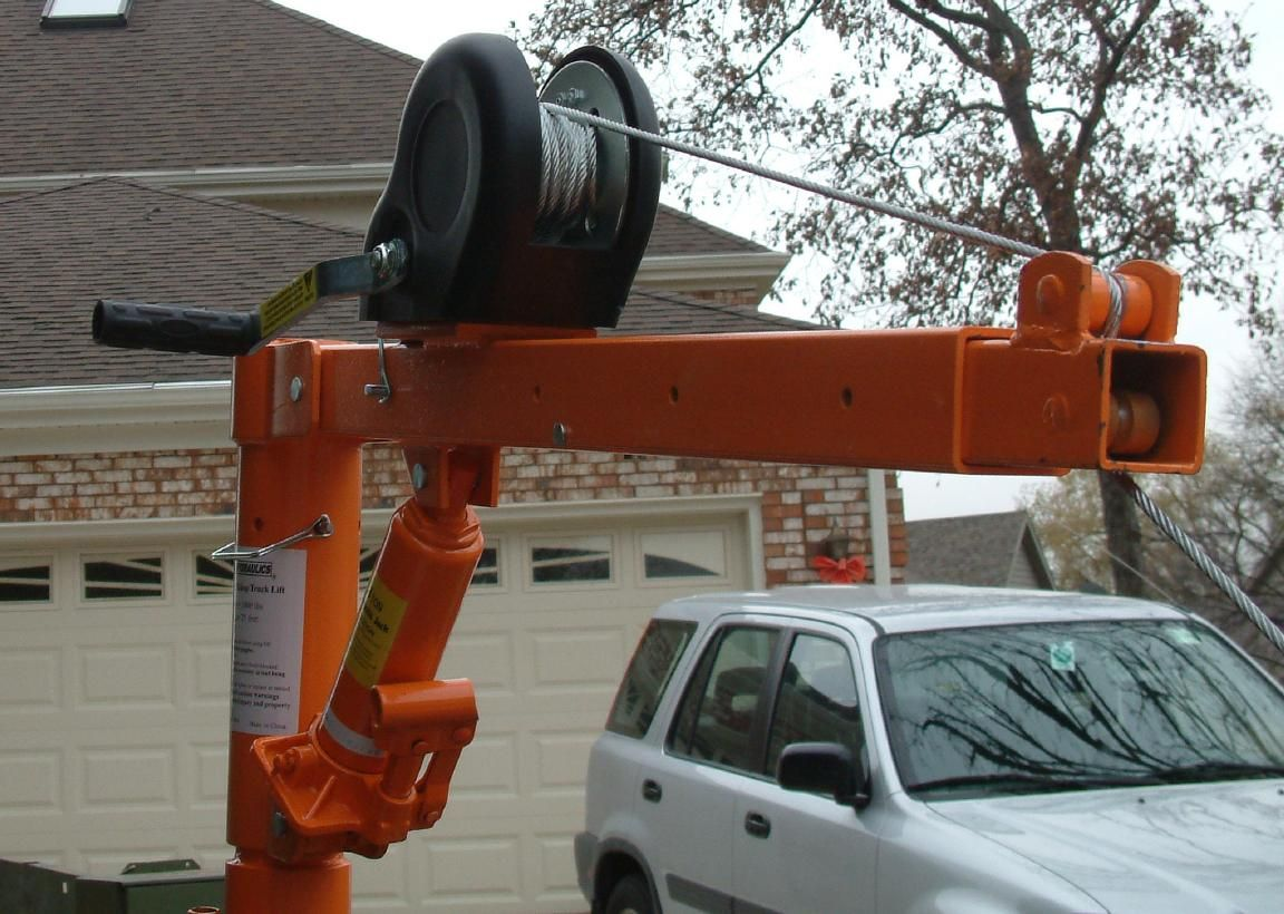 Truck Bed Crane The Best Image Home Design Freight