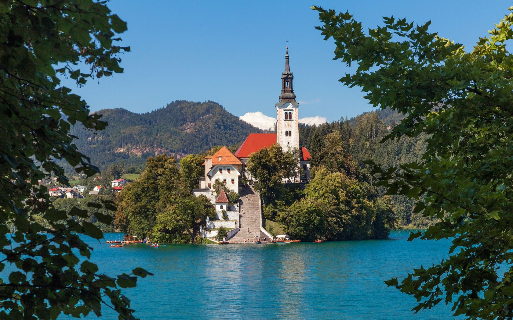 Pin On Inspiration For Work Beautiful photo church on bled island