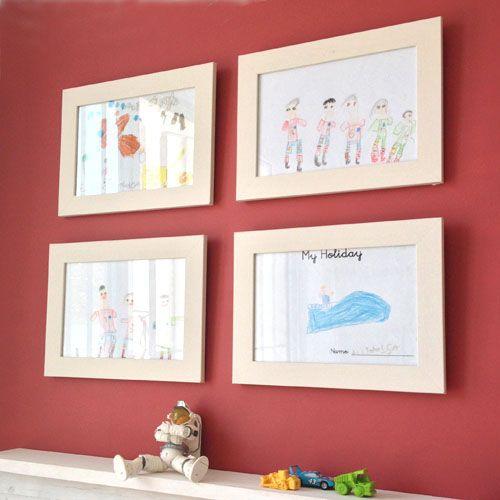 cuadritos infantiles cuartocolor Pintura de pizarra de colores ...