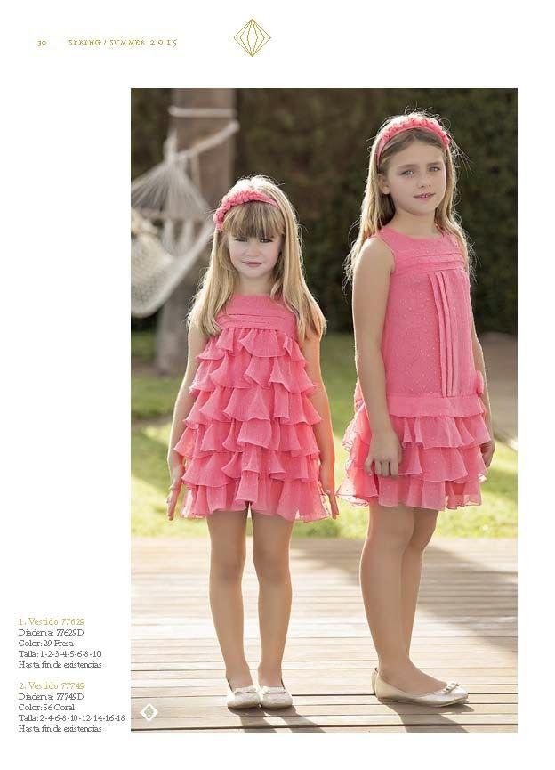 Ceremonia ss15 Amaya | Moda infantil | Pinterest | Vestidos de niñas ...