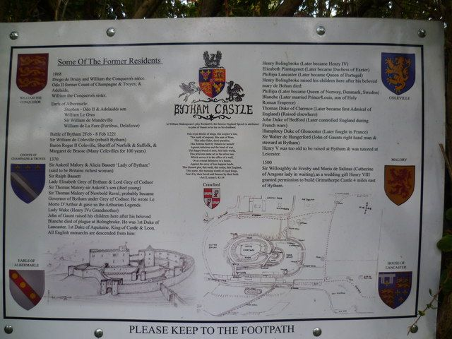 The history of Castle Bytham by Ian Yarham, via Geograph