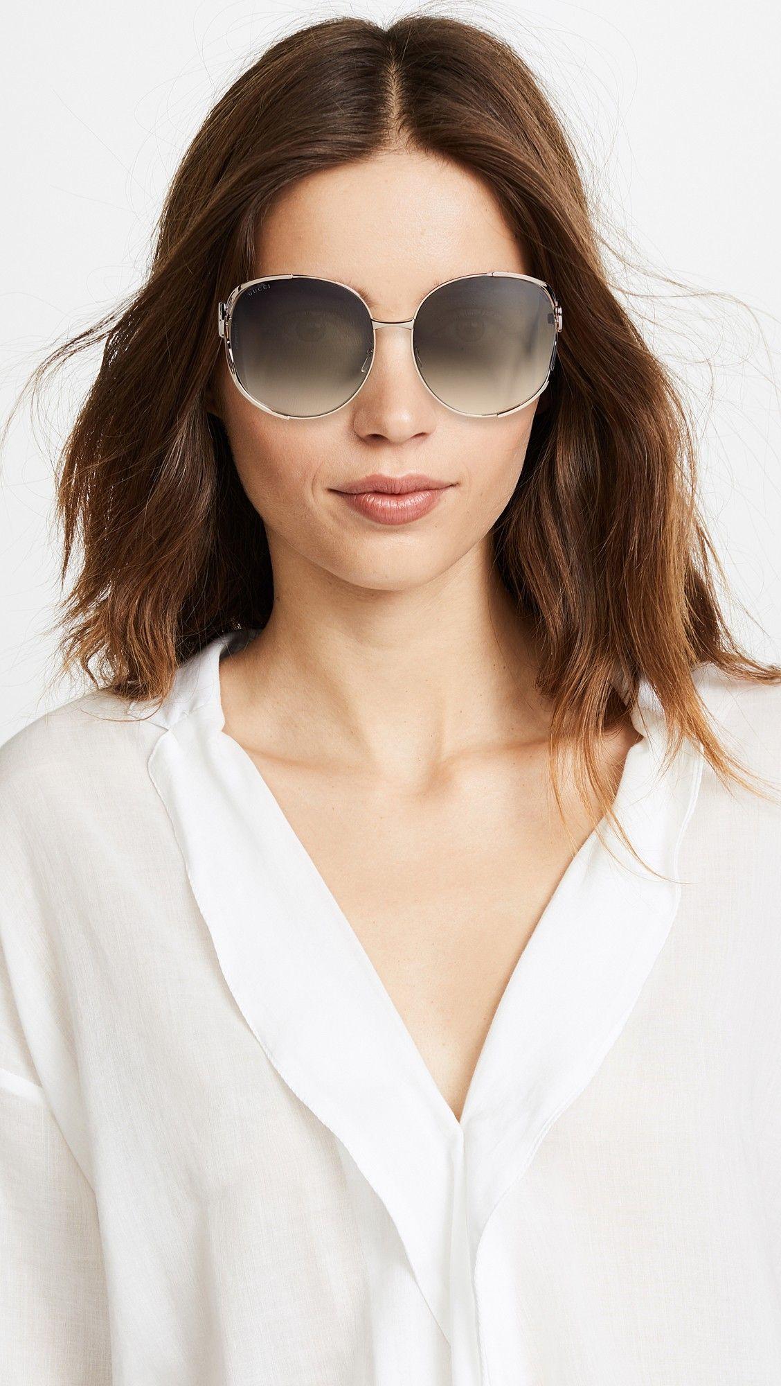 ab9a09cdf685 Gucci Urban Folk Oval Sunglasses