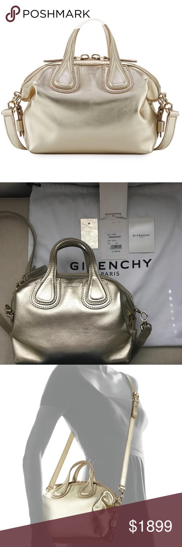 Givenchy Nightingale Mini Leather Satchel Bag BRAND NEW e47e020e7e821