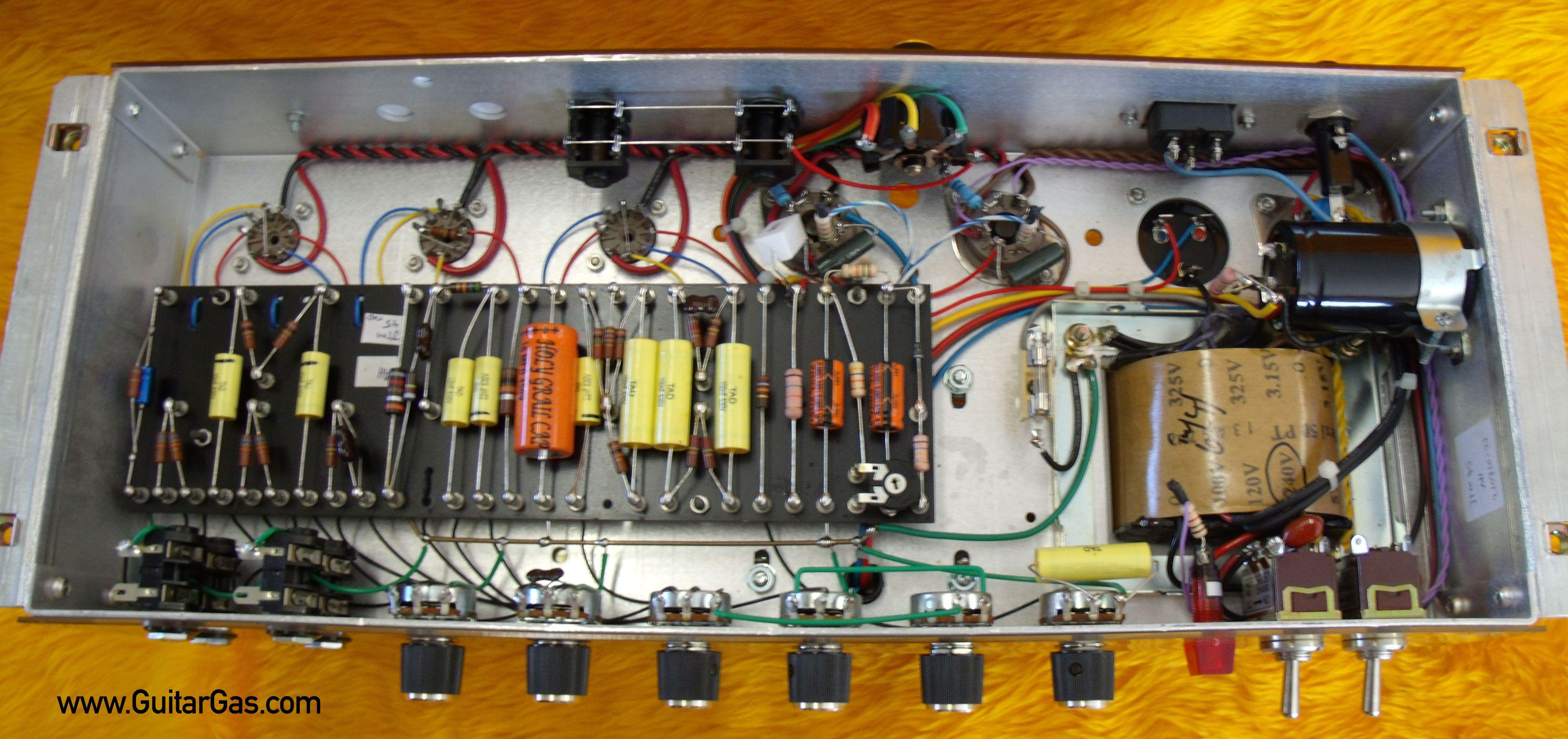 Ceriatone Jtm45 Inside Gut Shot 2 Clone 1929 Rca Theremin Vintage Radio Wiring Diagram Binatanicom