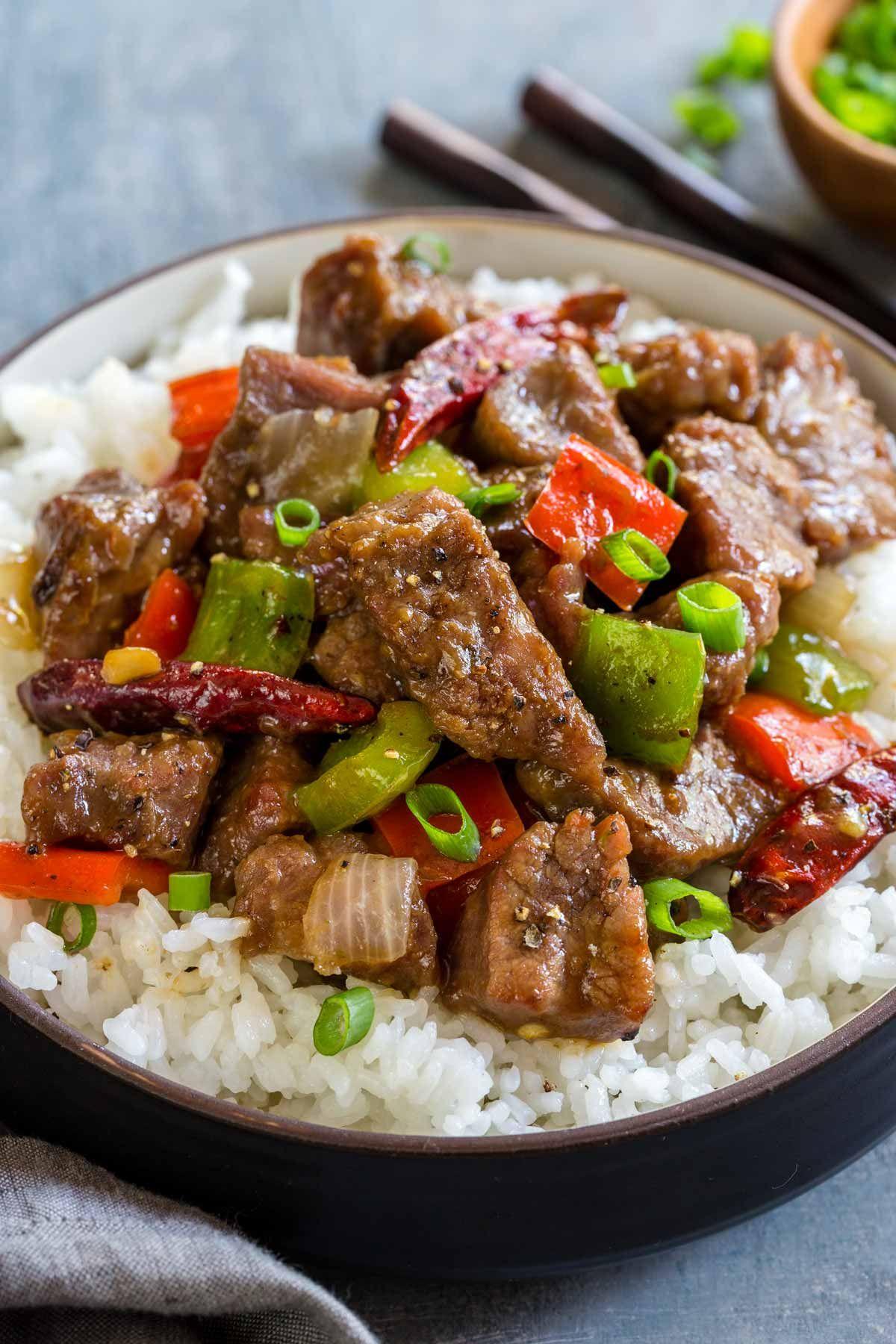 Mongolian Beef Recipe Mongolian Beef Recipes Mongolian Beef Beef