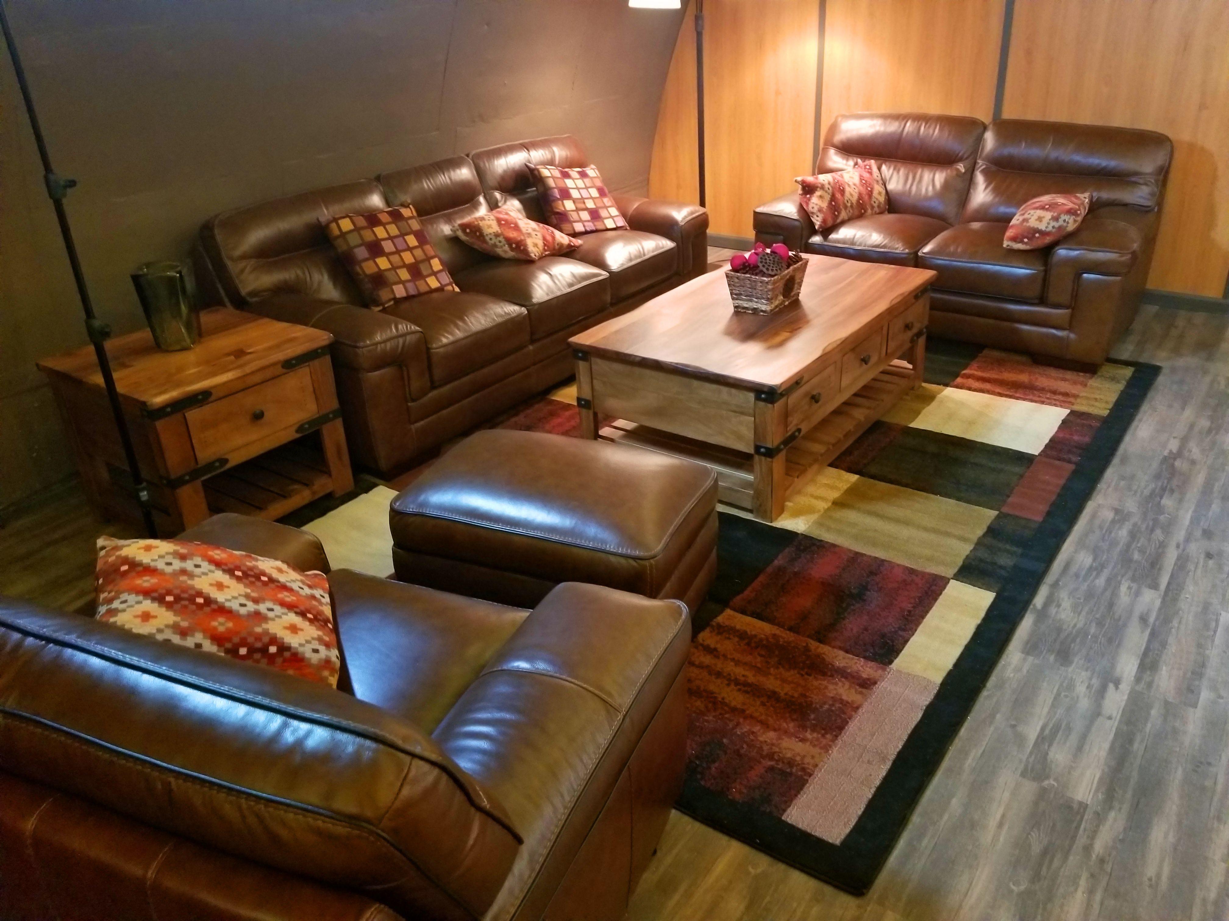 Plush luxury salon within a vivos xpoint bunker in south dakota