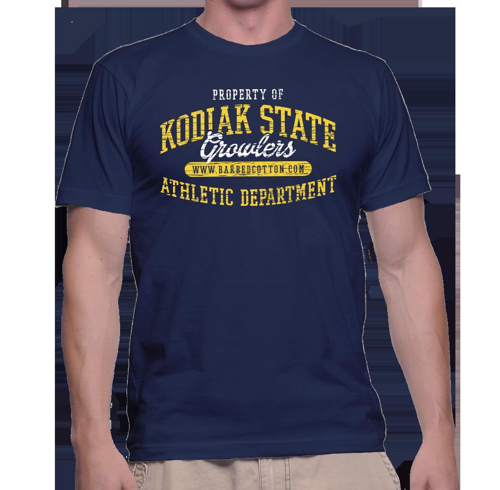 Kodiak State Growlers - Dark Shirt