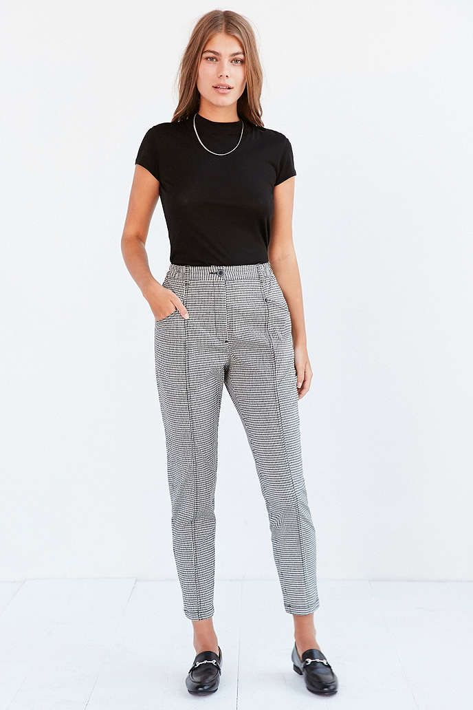 Bdg Checkered Mom Pant Mom Pants Pants Outfit Casual Fashion
