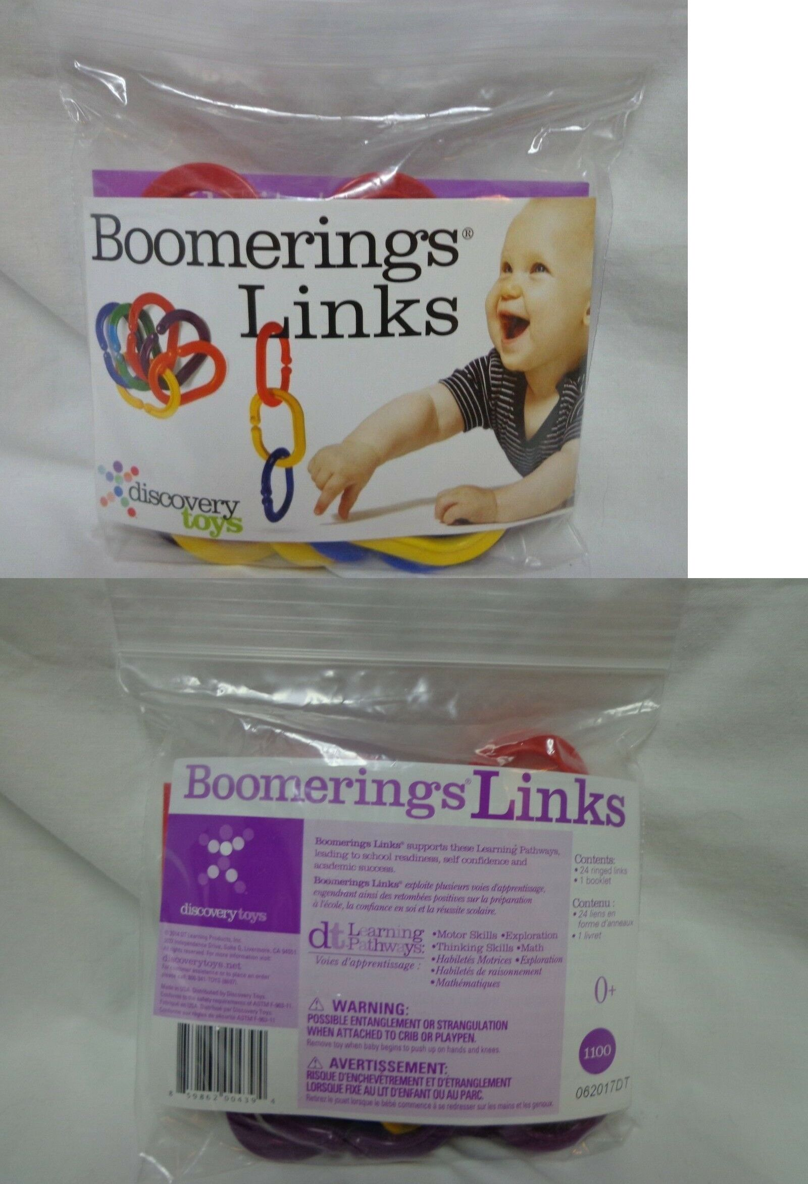 Multiple Subjects Mixed Lots Boomerings Links By