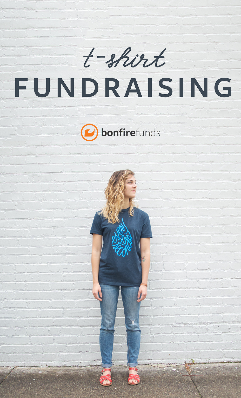Raise money with custom tshirts. Create your own design