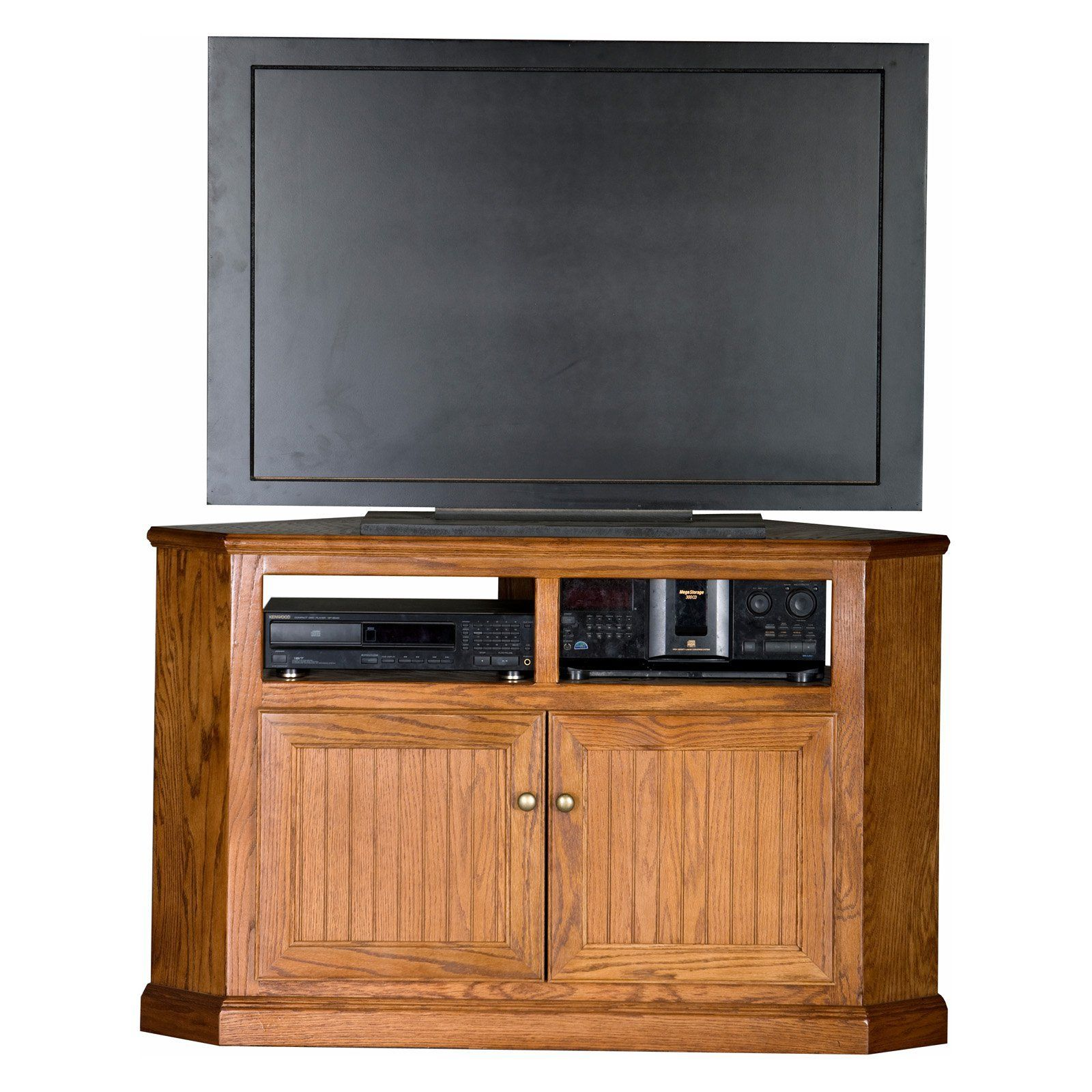 Eagle Furniture Heritage Customizable 50 In. Tall Corner TV Stand   Store  And Organize Your Media Essentials And Accessories With Ease Within The  Eagle ...