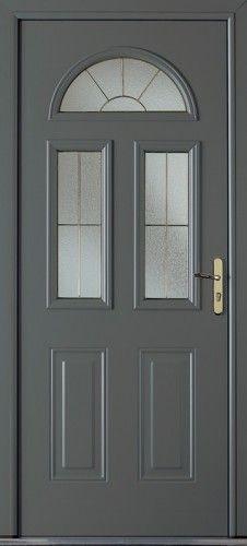 Porte aluminium porte entree bel 39 m classique poignee for Porte d entree double