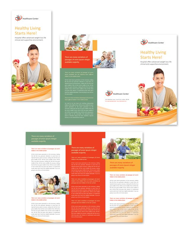 Healthcare Management Tri Fold Brochure Template HttpWww