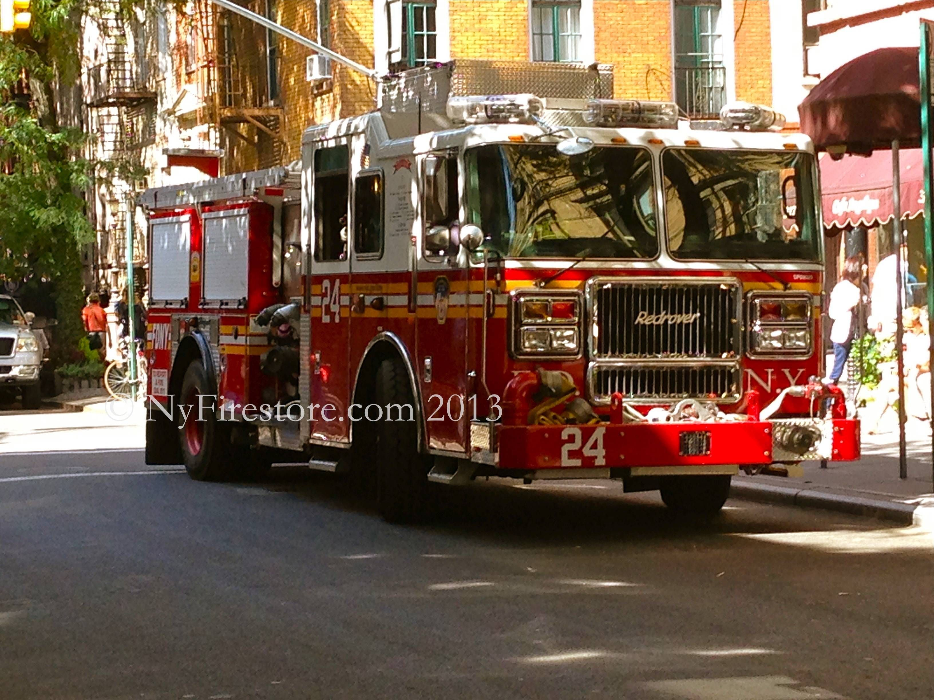 Four alarm fire at new york city high rise injures 24 people two critically fox news - Fdny Engine 24 Redrover