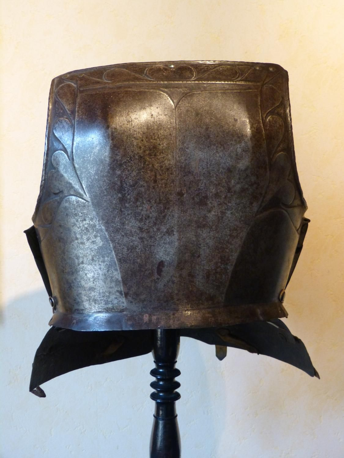 Antique for sale German breastplate of cuirass armor or