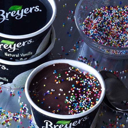 Birthday Cake Ice Cream Cups