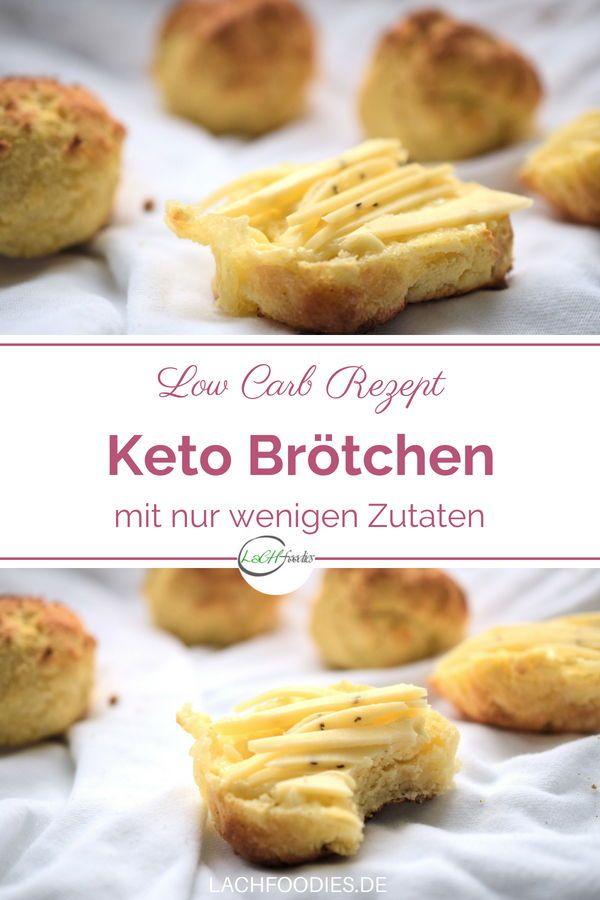 Schnell und kompakt: Low Carb Brötchen #glutenfreierezepte