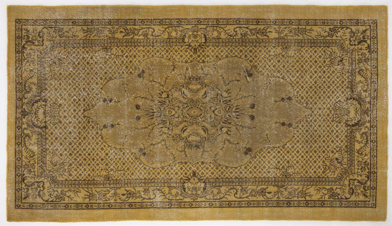 5.4 x 9.6 feet, Vintage Turkish rug $740 + ship