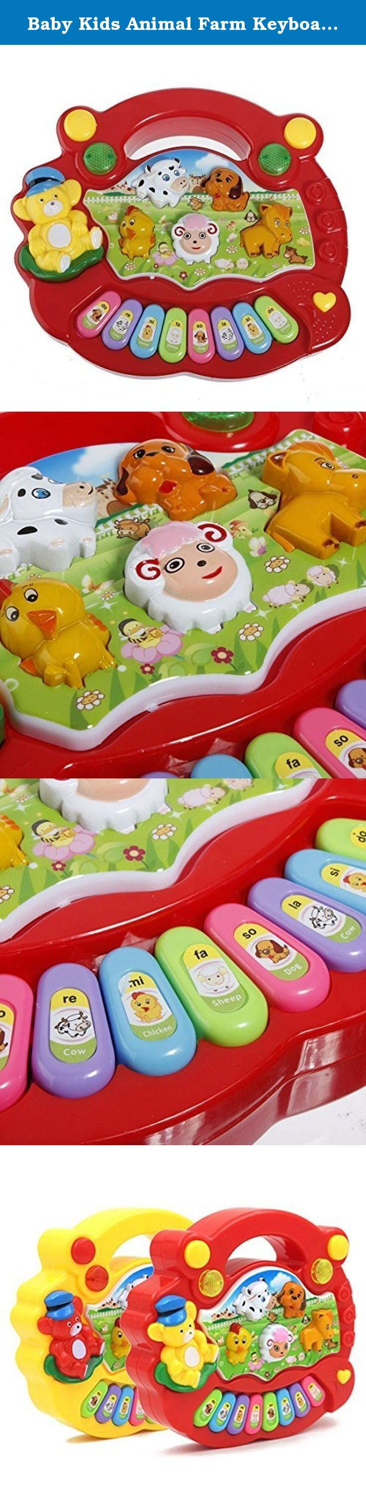 2f5dff0dd04d Baby Kids Animal Farm Keyboard Electrical Piano Child Musical Toy.  Description   Baby Animal Farm