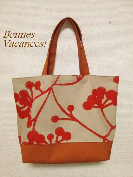 Tote Bag; Orange