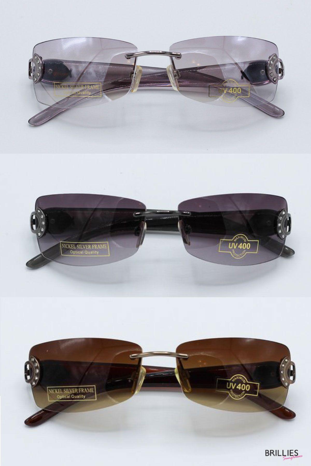Square Rimless Vintage Glasses Brown Square Frame Sunglasses 90s Fashion Womens Retro Eyewear Retro Eyewear Sunglasses Sunglass Frames