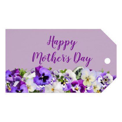 Custom Purple Happy Mother S Day Gift Tags Zazzle Com Happy Mothers Day Gift Tags Mothers Day Crafts