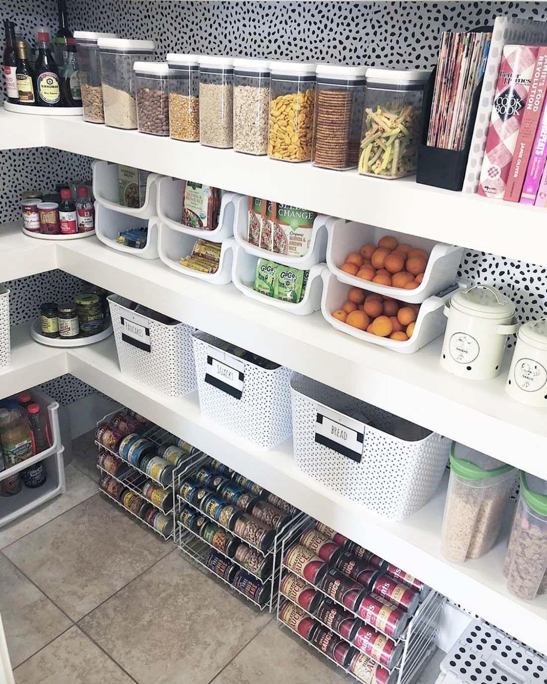 30 Brilliantly Organized Pantry Ideas To Maximize Your Storage Pantry Remodel Pantry Design Kitchen Pantry Design