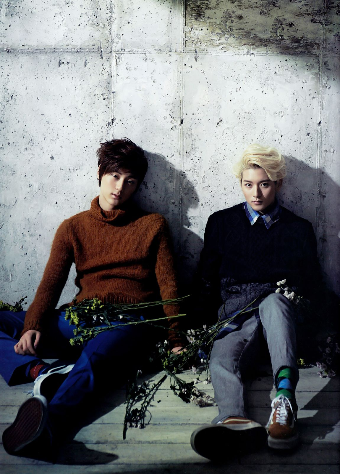 Minhyun and Ren - Ceci Magazine October Issue '13