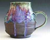 Extra Extra Extra Large Coffee Mug, Holds 42 oz, handmade ceramic cup, ceramic stoneware mug, coffee cup