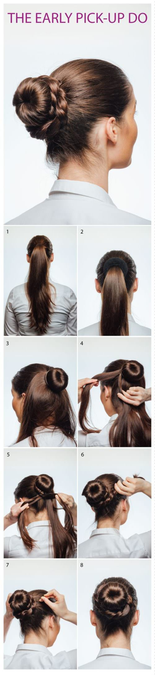 17 Air hostess hairstyles you can do at home Page 3 of 17 Hairstyle ...