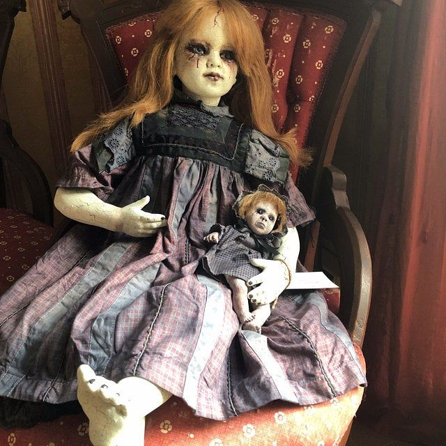 The Cremator Creepy Scary Horror OOAK Doll Sculpture ...