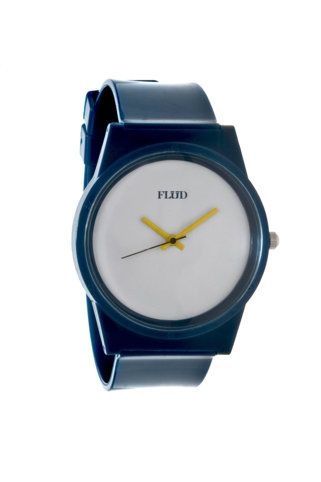 the polycarbonate casing and band seems interesting. Flud Pantone Watch