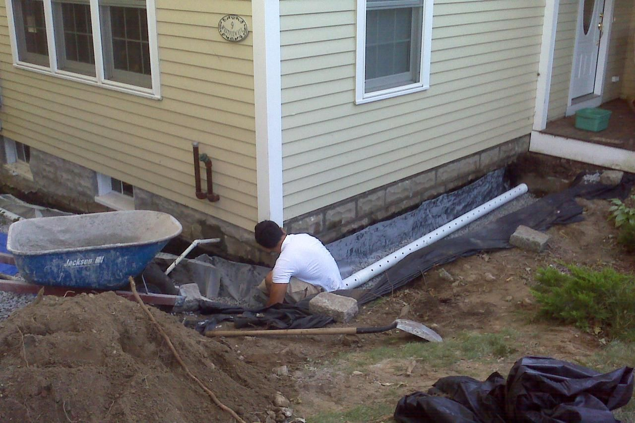 French Drains How To Build An Exterior French Drain System With Images French Drain French Drain System French Drain Installation