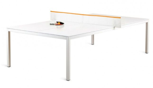 A Ping Pong Table And Conference