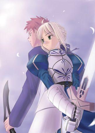 Shirou X Saber Fanart Fate Stay Night Fan Art Fate