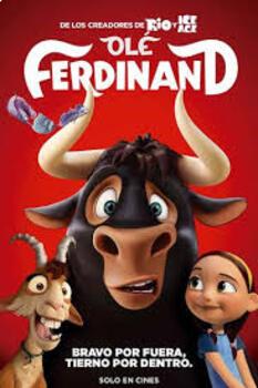 Olé, el viaje de Ferdinand. Preguntas 100% en Español. Movie Guide in SPANISH