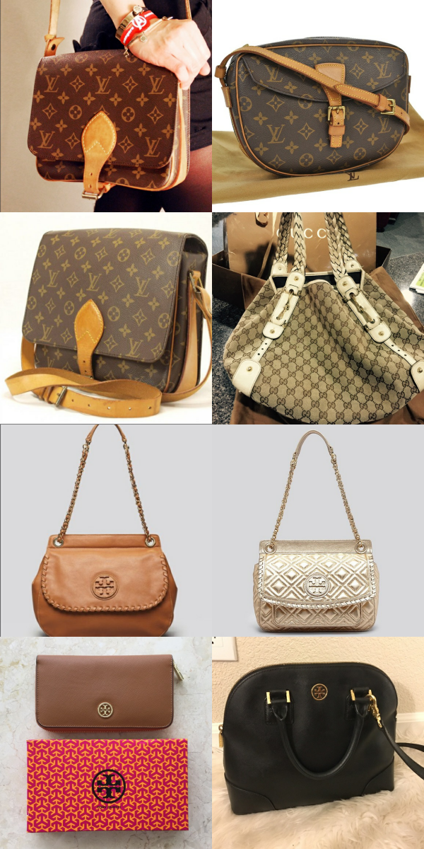 On a budget, but want to look on point? Shop LV, Tory Burch, Gucci, Celine and other brands at up to 70% off retail prices! Click image to install the FREE Poshmark app now!